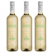 Kit 03 Unidades Vinho Frisante Almadén Moscatel Blanc 750ml