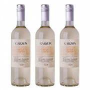 Kit 03 Unidades Vinho Garzón Estate Pinot Grigio 750ml
