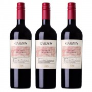 Kit 03 Unidades Vinho Garzón Estate Tannat de Corte 750ml