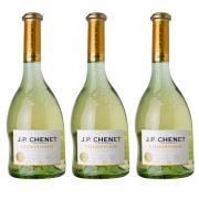 Kit 03 Unidades Vinho JP Chenet Chardonnay 750ml