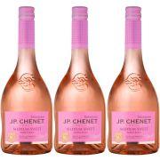 Kit 03 Unidades Vinho JP Chenet Delicious Rosé Suave 750ml