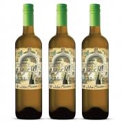 Kit 03 Unidades Vinho Julia Florista Branco 750ml