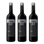Kit 03 Unidades Vinho Latitud 33 Syrah 750ml