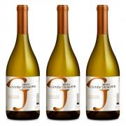 Kit 03 Unidades Vinho Miolo Cuvée Giuseppe Chardonnay 750ml