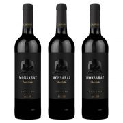 Kit 03 Unidades Vinho Monsaraz Tinto Alentejo DOC 750ml