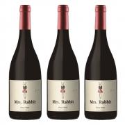 Kit 03 Unidades Vinho Mrs. Rabbit Pinot Noir 750ml