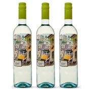 Kit 03 Unidades Vinho Porta 6 Branco Vinho Verde DOC 750ml