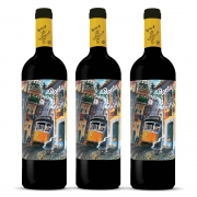 Kit 03 Unidades Vinho Porta 6 Tinto 750ml
