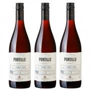 Kit 03 Unidades Vinho Salentein Portillo Pinot Noir 750ml