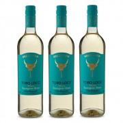 Kit 03 Unidades Vinho Toro Loco Sauvignon Blanc 750ml