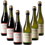 Kit 06 Lambrusco Villa Giada 750ml 03 Tinto e 03 Branco
