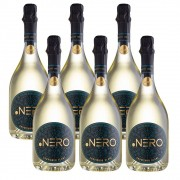 Kit 06 Un. Espumante Ponto Nero Enjoy Sauv. Blanc Brut 750ml