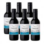 Kit 06 Un. Mini Vinho Trapiche Vineyards Malbec 187ml