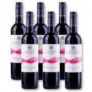 Kit 06 Un. Vinho Barone Montalto Acquerello Nero D'Avola