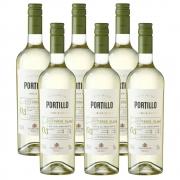 Kit 06 Un. Vinho Salentein Portillo Sauvignon Blanc 750ml