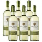 Kit 06 Un Vinho Santa Helena Reservado Sauvignon Blanc 750ml