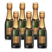 Kit 06 Unid. Mini Espumante Chandon Baby Réserve Brut 187ml