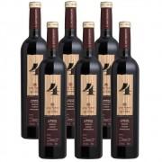 Kit 06 Unid. Vinho Casa Perini 4 Quatro 750ml