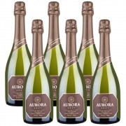 Kit 06 Unidades Espumante Aurora Brut 750ml