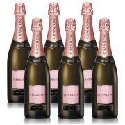 Kit 06 Unidades Espumante Chandon Brut Rosé 750ml