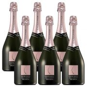 Kit 06 Unidades Espumante Chandon Excellence Brut Rosé 750ml
