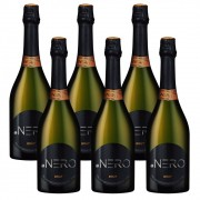 Kit 06 Unidades Espumante Ponto Nero Cult Brut 750ml