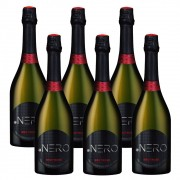 Kit 06 Unidades Espumante Ponto Nero Cult Brut Rosé 750ml