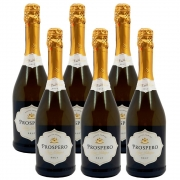 Kit 06 Unidades Espumante Prospero Brut 750ml