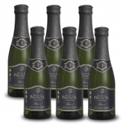 Kit 06 Unidades Mini Espumante Monte Paschoal Prosecco 187ml