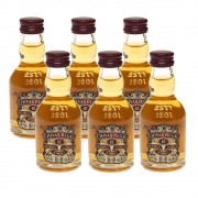 Kit 06 Unidades Mini Whisky Chivas Regal 12 Anos 50ml