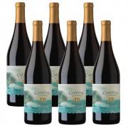 Kit 06 Unidades Vinho BV Coastal Estates Pinot Noir 750ml
