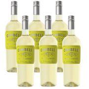 Kit 06 Unidades Vinho Corbelli Pinot Grigio 750ml