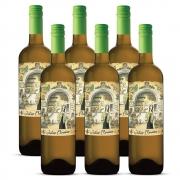 Kit 06 Unidades Vinho Julia Florista Branco 750ml