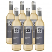 Kit 06 Unidades Vinho Latitud 33 Sauvignon Blanc 750ml