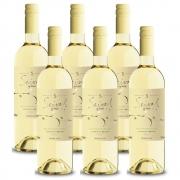 Kit 06 Unidades Vinho Miolo Seival Sauvignon Blanc 750ml