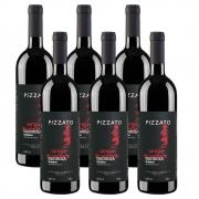 Kit 06 Unidades Vinho Pizzato Reserva Egiodola 750ml