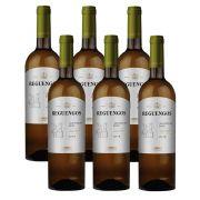 Kit 06 Unidades Vinho Reguengos DOC Branco 750ml