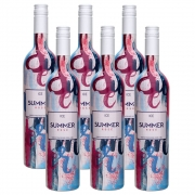 Kit 06 Unidades Vinho Summer Ice Rosé Casa Motter 750ml
