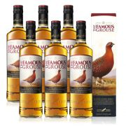 Kit 06 Unidades Whisky The Famous Grouse 750ml