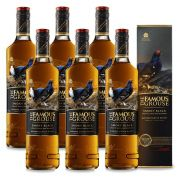 Kit 06 Unidades Whisky The Famous Grouse Smoky Black 750ml