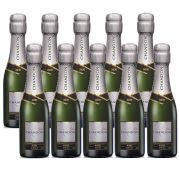 Kit 10 Un. Mini Espumante Chandon Baby Riche Demi-Sec 187ml