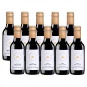 Kit 10 Un. Mini Vinho Fausto de Pizzato Violette Suave 187ml