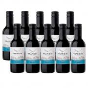 Kit 10 Un. Mini Vinho Trapiche Vineyards Malbec 187ml