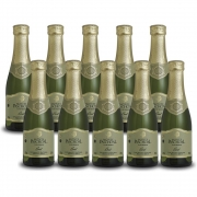 Kit 10 Unidades Mini Espumante Monte Paschoal Brut 187ml