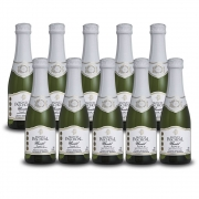 Kit 10 Unidades Mini Espumante Monte Paschoal Moscatel 187ml