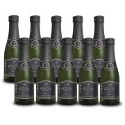 Kit 10 Unidades Mini Espumante Monte Paschoal Prosecco 187ml