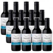 Kit 12 Un. Mini Vinho Trapiche Vineyards Malbec 187ml