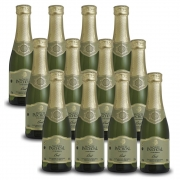 Kit 12 Unidades Mini Espumante Monte Paschoal Brut 187ml