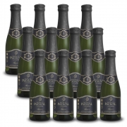 Kit 12 Unidades Mini Espumante Monte Paschoal Prosecco 187ml