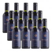 Kit 12 Unidades Mini Vinho Casa Valduga Origem Merlot 187ml